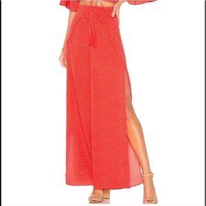 Ale' by Allessandra X Revolve Pants - Ale By Alessandra NWT Red Polka Dot Pants REVOLVE